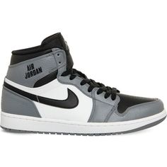 NIKE Air jordan 1 retro leather high-top trainers ( 145) ❤ liked on 5cecba33f