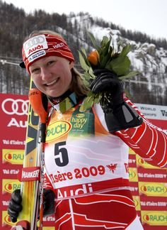 Tanja Poutiainen Photos: Women's Slalom - Alpine FIS Ski World Championships  ||  Tanja Poutiainen (born 6 April 1980) is a retired World Cup alpine ski racer from Finland. She specialized in the technical events of slalom and giant slalom, and was the silver medalist in the women's giant slalom at the 2006 Winter Olympics in Torino.  -   http://en.wikipedia.org/wiki/Tanja_Poutiainen