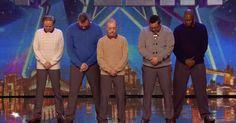 Los 5 hombres no convencen al jurado. Pero cuando la música empieza… Nadie estaba preparado para esto.