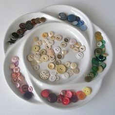 Shabby chic vintage button mix by hundredsofbuttons on Etsy, $6.00