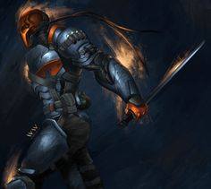 deathstroke deviantart | One Stroke Closer To Death by leonwoon on deviantART