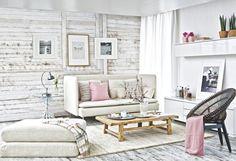 En el mismo espacio te mostramos cuatro ambientes que hemos decorado con ideas, muebles y colores distintos, eso sí todos son cómodos, bonitos y prácticos. ¿Con qué salón te quedas?
