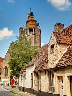 century Jerusalem church in Bruges, Belgium Jerusalem, Places Around The World, Around The Worlds, Unusual Buildings, Living In Europe, Barcelona Travel, Thinking Day, Historical Architecture, Place Of Worship