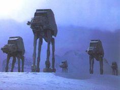 Star Wars At-At walkers