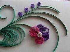 Znalezione obrazy dla zapytania quilling wzory kwiaty