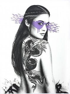 Senaka - 2016 Fin DAC poster Heliotrope 1st edition/35 street art