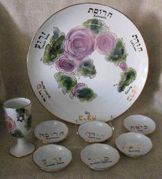 Seder plate set