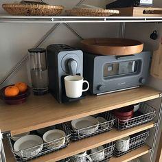 Studio Kitchen, Kitchen Design, Kitchen Interior, Interior Design Living Room, Home Planner, Japanese Kitchen, Japanese Interior Design, Kitchen Dinning, Vintage Kitchen Decor