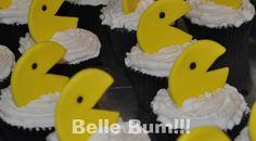 belle bum: 80's Birthday Party: cupcake ideas