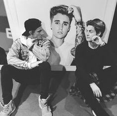 william, chris and justin bieber #skam