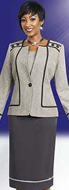Ben Marc Executive 11464 Three Piece Womens Business Suit