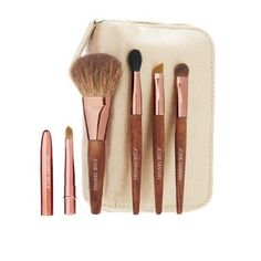 josie maran makeup brush set <3