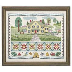 Summertime the Living is Easy - Cross Stitch, Needlepoint, Embroidery Kits – Tools and Supplies