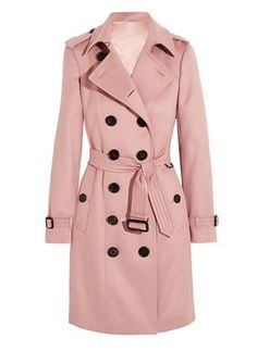 Burberry - The Sandringham Mid Cotton-gabardine Trench Coat - Beige Trench Coat Beige, Military Trench Coat, Military Style Coats, Double Breasted Trench Coat, Classic Trench Coat, Burberry Coat, Burberry Classic, Trenchcoat Style, Trench Coats