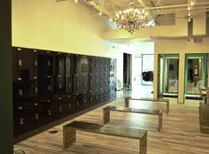 The Ride House of Dallas, Texas allows you to lock up your personal items with the help of Digilock's lockers and locks!