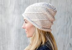 Knitted spiral hat - free knitting instructions - repeat, knit the interval B – C (= 44 sts) - Knitting Websites, Knitting Blogs, Knitting For Beginners, Free Knitting, Crochet Blanket Patterns, Baby Knitting Patterns, Knitting Designs, Sewing Patterns Free, Star Patterns