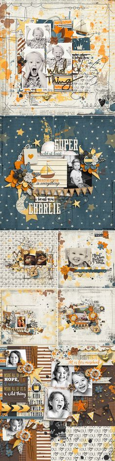 CT INSPIRATION using Wild Thing Bundle by Studio Basic and Traci Reed