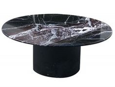 black marble coffee table set