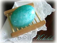 Aquamarine Rock Soap by Kokolele on Etsy, $5.00