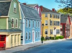 State St., Marblehead, MA. The old King's Rook on the far left. Memories.