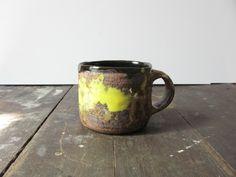 :: Akiko Hirai 'yellow' mug... Neon splash!