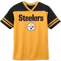 8abd333fa NFL - NFL Pittsburgh Steelers Toddler Short Sleeve Fashion Top - Walmart.com
