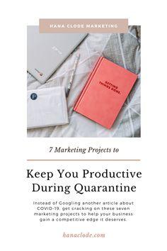 7 Marketing Projects to Keep You Productive During Quarantine - Hana Clode Inbound Marketing, Business Marketing, Email Marketing, Create Email Template, Email Templates, Marketing Program, Marketing Tools, Company Introduction, Social Media Digital Marketing
