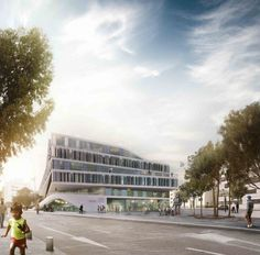University Building for Technical Faculty Winning Proposal / 3XN | ArchDaily