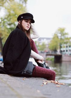 764d3db0 awesome Street Style Trends- How to Wear the Captain's Military Cap , [br]  [caption align=