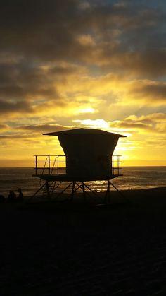 Stunning California sunset