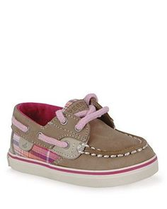 Sperry Infant Girls' Top-Sider Bluefish Prewalker Flat Shoes $30 - SO CUTE! #preppybabyclothes