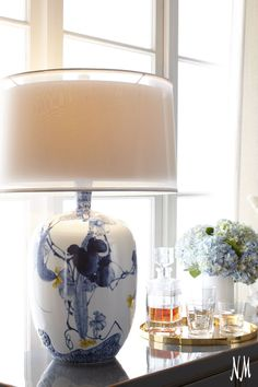 Decorate your home with porcelain pieces by John-Richard. Masterful craftsmanship will elegantly light up your home.