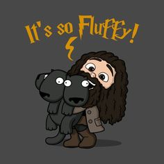 Harry Potter It's So Fluffy! - Harry Potter - Posters and Art Prints Harry Potter Tumblr, Harry Potter World, Harry Potter Poster, Fanart Harry Potter, Mundo Harry Potter, Harry Potter Drawings, Harry Potter Jokes, Harry Potter Pictures, Harry Potter Wallpaper