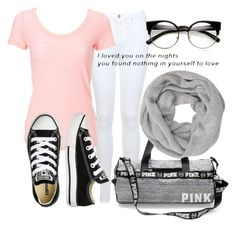 """""""New styles"""" by carogamer ❤ liked on Polyvore featuring Miss Selfridge, Converse and John Lewis"""