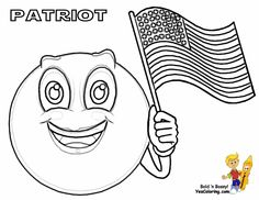 Do you need red-white-and-blue-blooded American Flag Coloring pages? Printout these traditional and eyeball popping USA flags and military flags. See and match your banner's true colors...