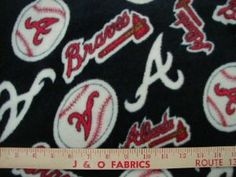 Atlanta Braves Fleece: Allover