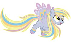 Derpy Hooves is very popular among the ponies of Equestria,but she is a little clumsy when she flies.