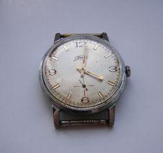 #ZIM Vintage mechanical watch 1960s made in USSR 15 jewels Servcied #vintagewatches  #oldfashioned #menwithclass #watchesofinstagram #watchUSSR #watch #mechanicalwatch #rarewatch