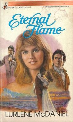 Eternal Flame by Lurlene McDaniel, 1985. Oh my gooodoodddd the guy's hair and his clothes