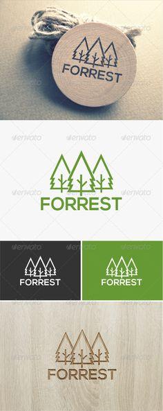Forest Logo   #graphicriver