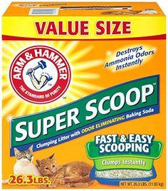 Arm & Hammer Super Scoop Clumping Litter, 26.3 lb Arm & H... http://www.amazon.com/dp/B00HRVQ9CI/ref=cm_sw_r_pi_dp_Vj-fxb1NEXGEV