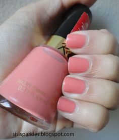 "Revlon Fire and Ice nail polish, ""Demure"""