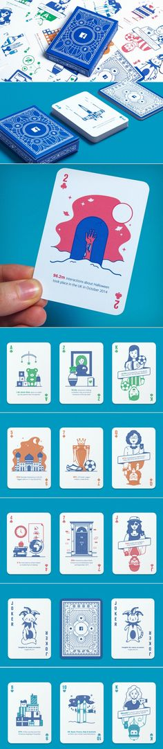 Facebook's NEW Deck of Playing Cards With Marketing Insights for Agencies — The Dieline - Branding & Packaging Design