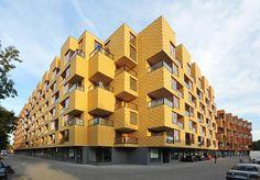 Dom wielorodzinny we Wrocławiu - laureat Brick Award Polska 2013 w kategorii Dom wielorodzinny; autor projektu: Biuro Projektów Lewicki Łatak