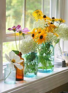stiklainiai - vazos