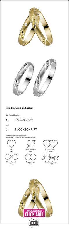 Rauschmayer un par de anillos boda Easy Pair 03445, Legierung:750/- oro blanco  ✿ Joyas para hombres especiales - lujo ✿ ▬► Ver oferta: http://comprar.io/goto/B0117H1B7K