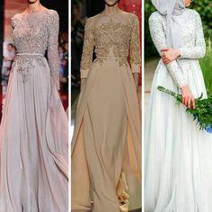 gelinlik tesettür uygulama wedding dress fashion