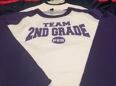 Grade level teacher shirt