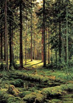 Gurney Journey: Part 4: Foliage / Forest Interiors