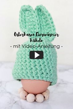 Crochet bunnies egg warmer with video instructions - table cloth for Easter Valentines Day Gifts For Him, Valentines Day Decorations, Xmas Gifts, Crochet Rabbit, Diy Gifts For Kids, Cheap Gifts, Easter Party, Crochet Gifts, Easter Baskets